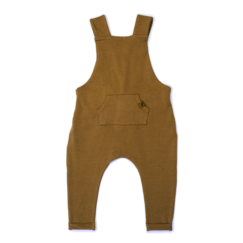 Organic Overalls-Curry