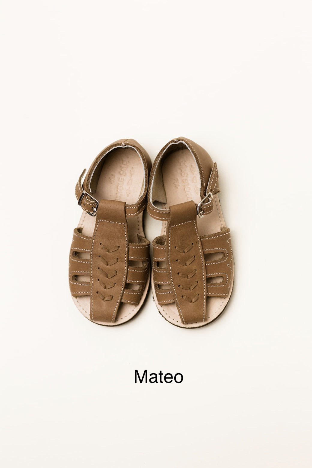 Mateo Sandal- Brown