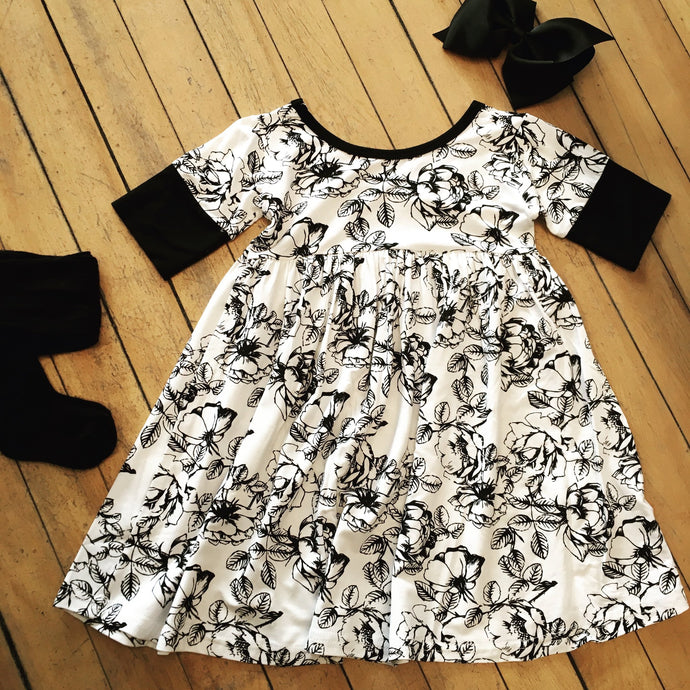 Twirl Dress-Floral