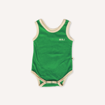 Luca Terry Romper-Green