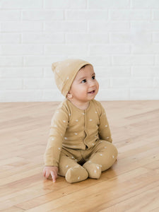 Knotted Baby Hat-Honey