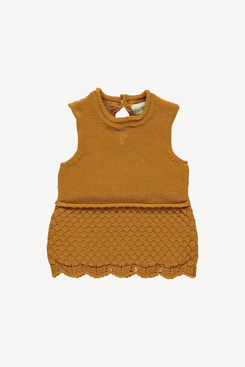 Knit Camisole-Toffee