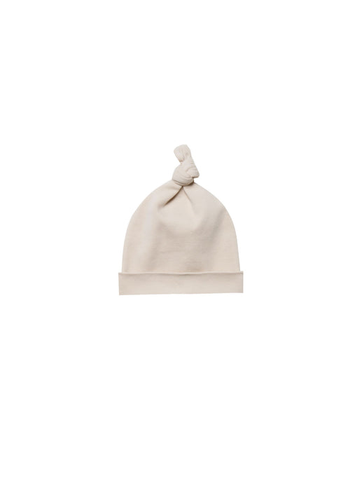 Knotted Baby Hat-Rose