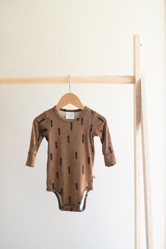 Long Sleeve Onesie - Forest