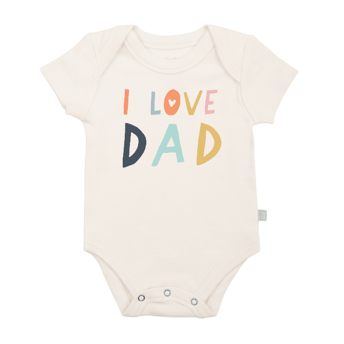 Graphic Bodysuit-I Love Dad