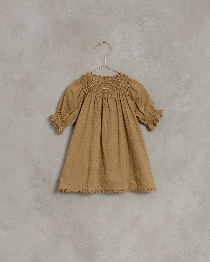 Maddie Dress-Golden
