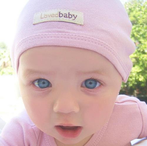 Infant Cap-Mauve