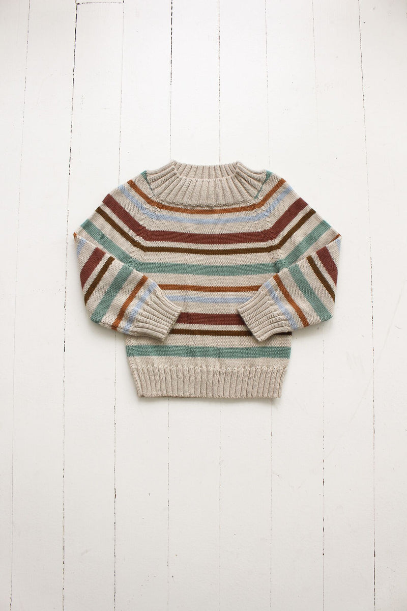 Cozy Sweater-Multi stripe