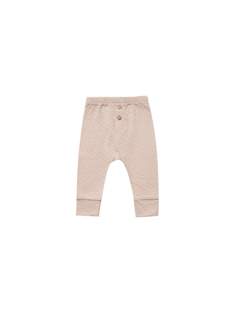 Pointelle Pajama Pant-Rose