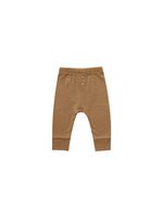 Pointelle Pajama Pant- Walnut