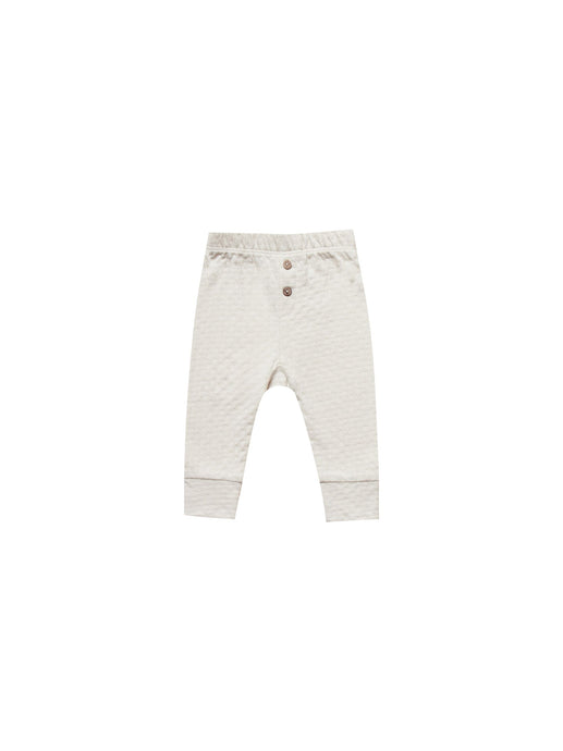 Pointelle Pajama Pant-Pebble