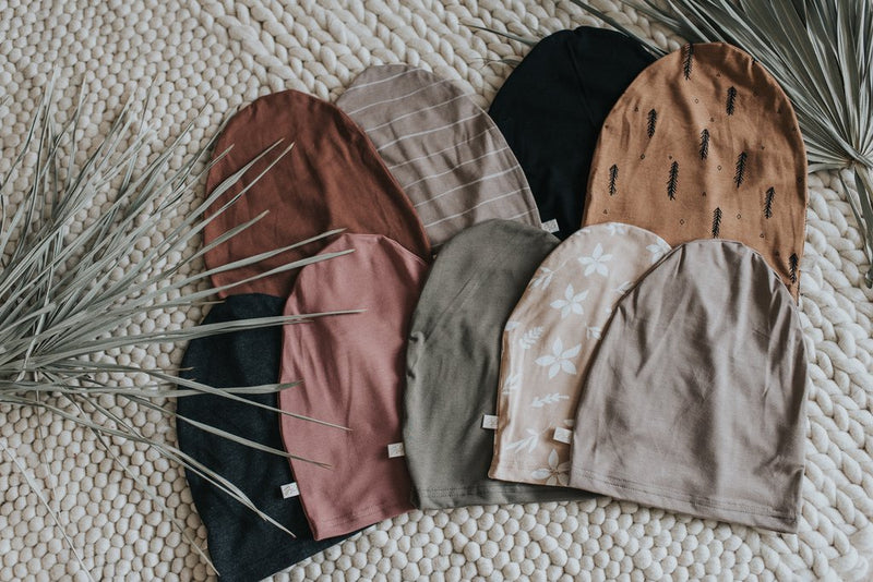 Slouchy Beanies - Taupe