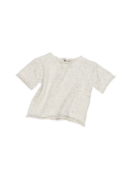 Cream Sprinkles Knit Tee
