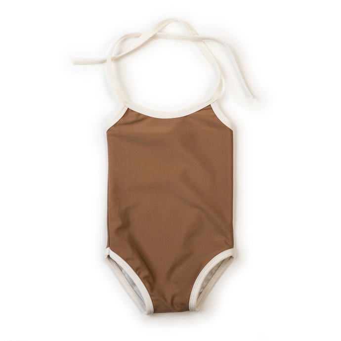 Girls Swimsuit-Russet