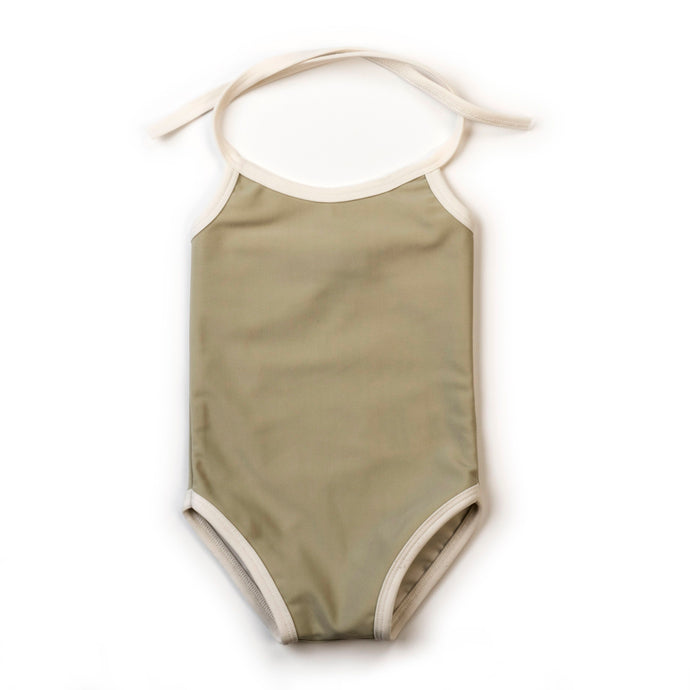 Girls Swimsuit-Sage
