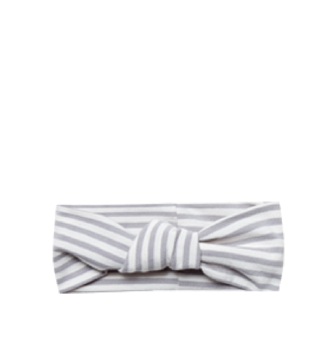 Turban-Grey Stripe