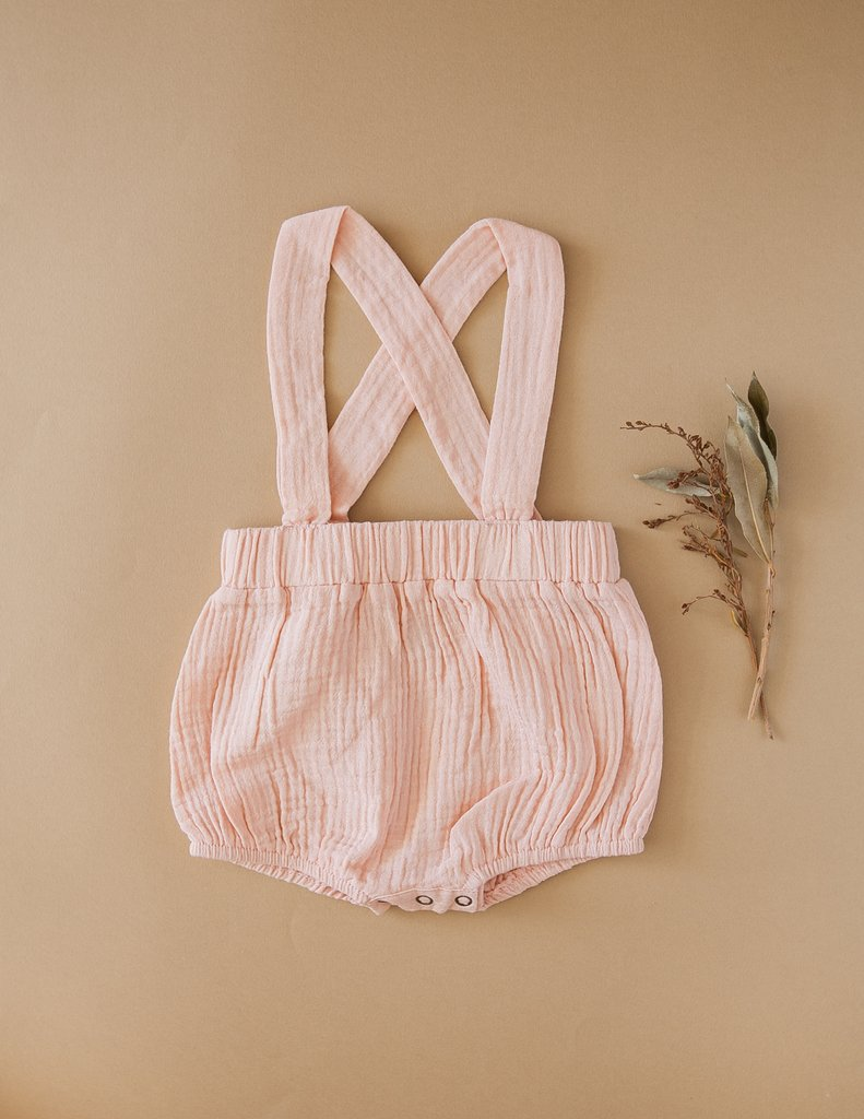 Vintage Style Cotton Suspender Bloomers - Candy