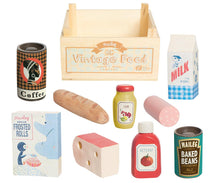 Load image into Gallery viewer, VINTAGE FOOD GROCERY BOX