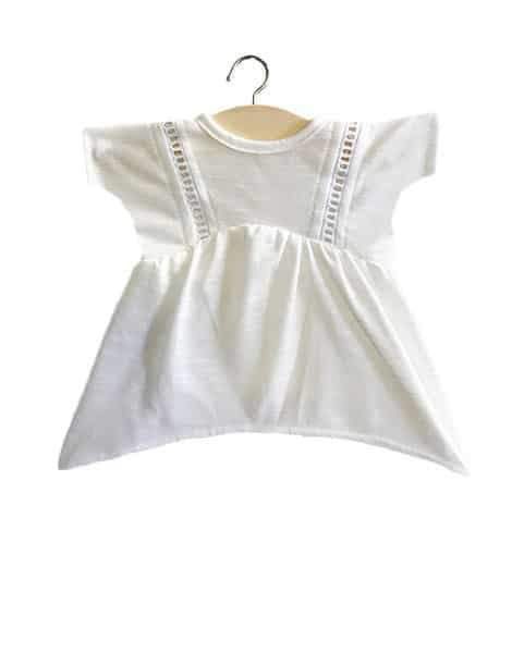 Doll Dress-White