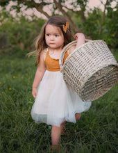 Load image into Gallery viewer, Willa Linen Reversible Tutu Dress - Woodland
