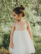 Load image into Gallery viewer, Willa Linen Reversible Tutu Dress - Peach Orchard