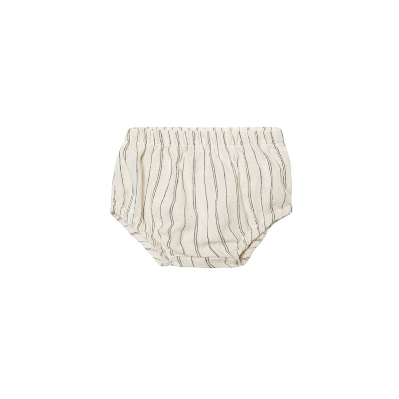 Gauze Bloomer-Natural/Black Stripe