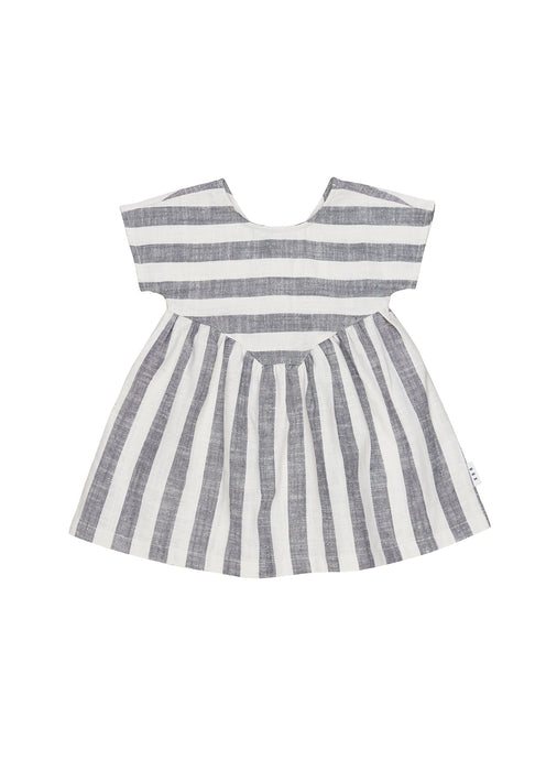 Stripe Yoke Dress