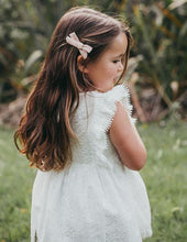 Load image into Gallery viewer, Little Angel Cotton and Lace Dress