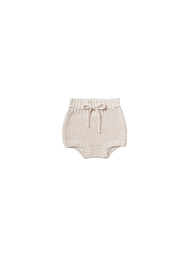 Knit Tie Bloomers, Pebble