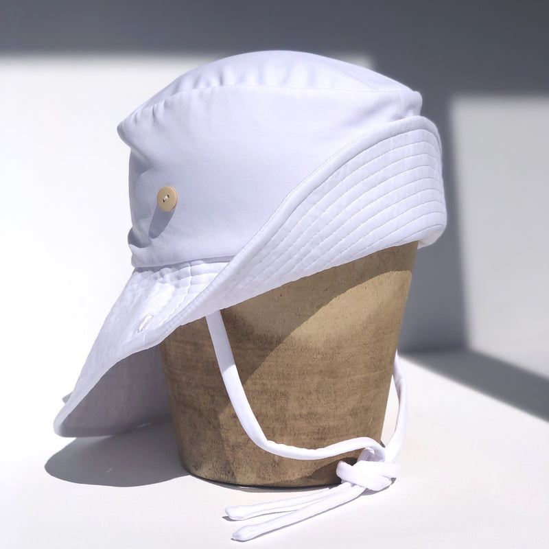 Fini Swim Sailor-White