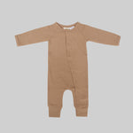 Full Romper-Hazelnut