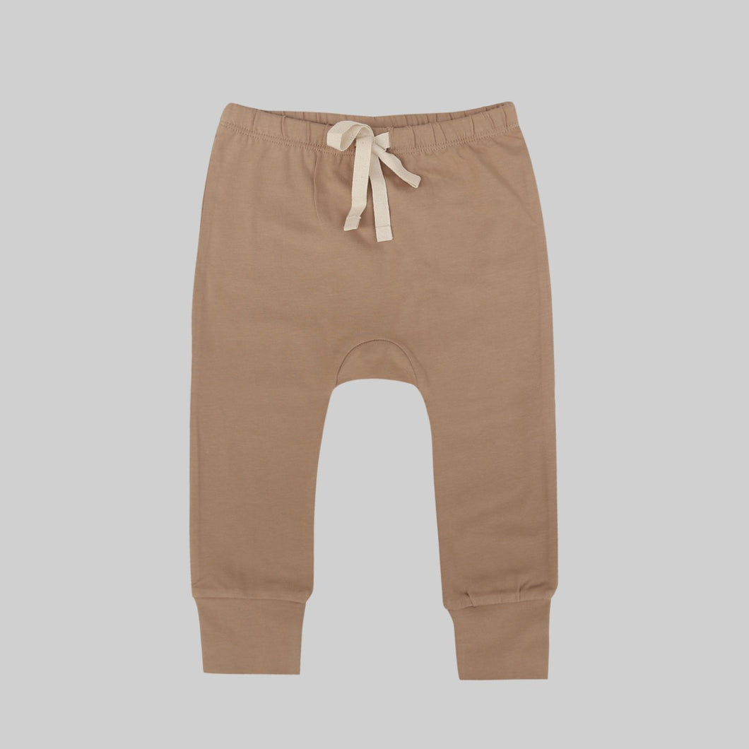 Organic Leggings-Hazelnut