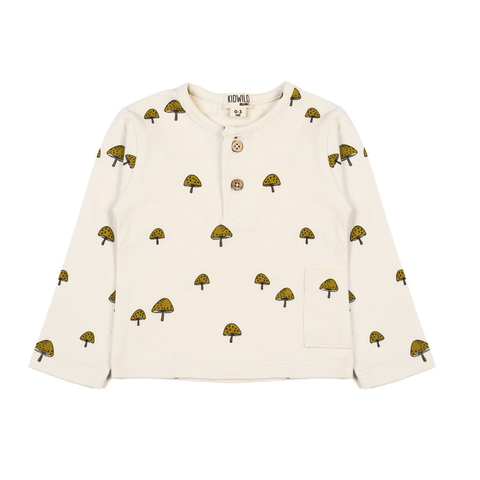 Long Sleeve Top-Mushroom