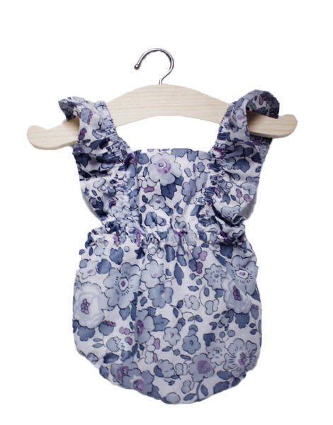 Doll Romper-Liberty Floral