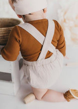 Load image into Gallery viewer, Vintage Style Cotton Suspender Bloomers - Fawn