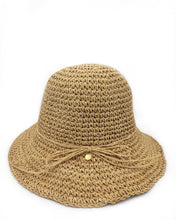 Load image into Gallery viewer, Fini. Straw Hat-Natural