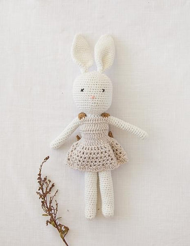 Karibunny Vintage Style Dress-Up Rabbit Doll