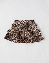 Load image into Gallery viewer, Wild and Free Ruffled Leopard Skirt