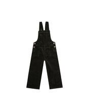 Load image into Gallery viewer, Wide Leg Overalls- Vintage Black