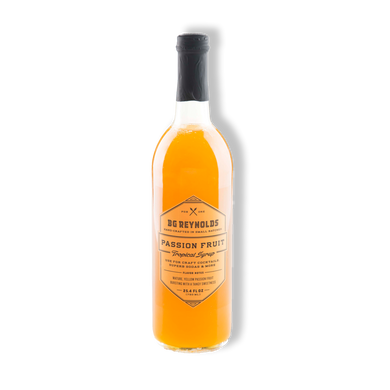 BG Reynolds Syrup - Passionfruit 375ml
