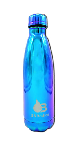 Botella Gold Azul