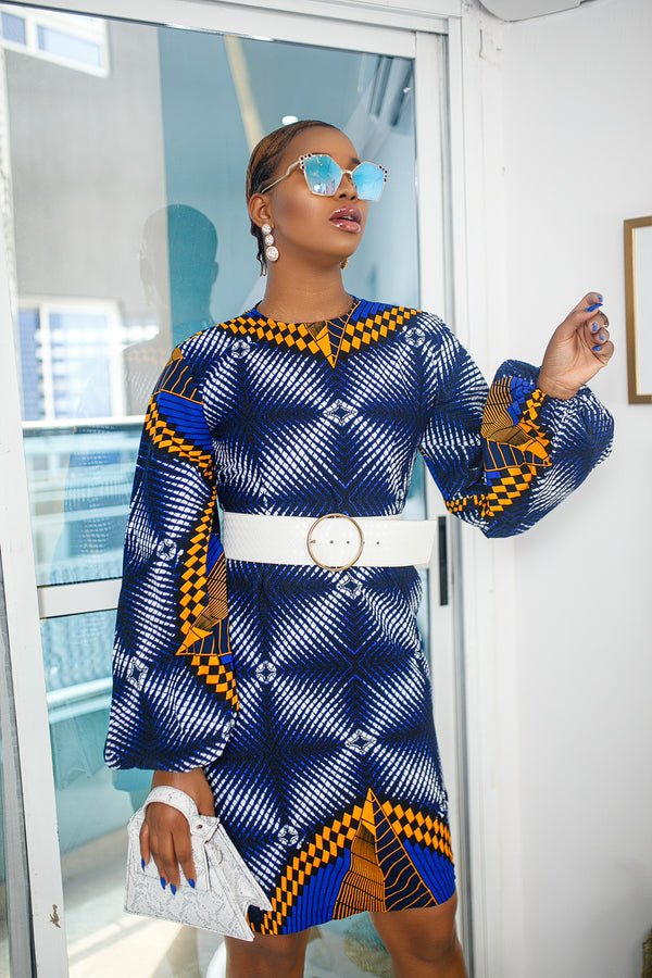 MAKEDA DRESS