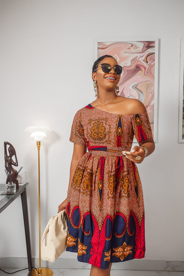 IMANI OFF SHOULDER DRESS