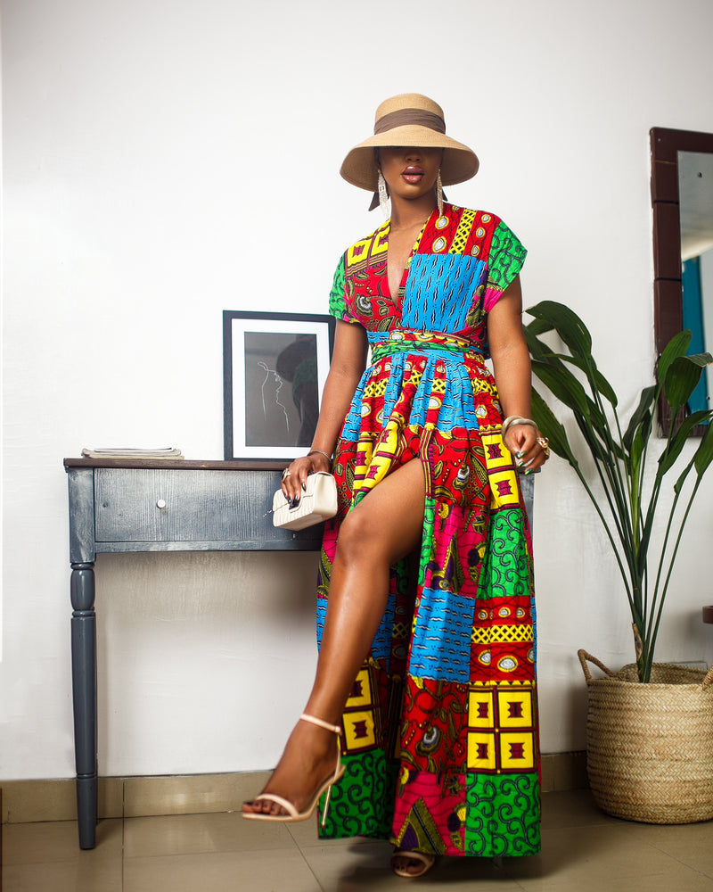 OLORI INFINITY DRESS [MULTICOLOR]