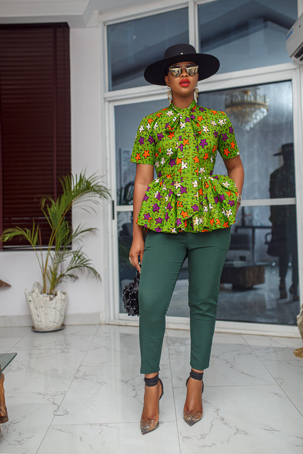 LOLU TOP [GREEN] PRE-ORDER [Ships on or before APRIL 30]