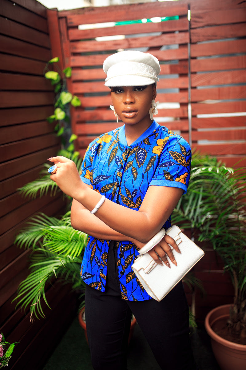 ANKARA POLO TOP [BLUE]