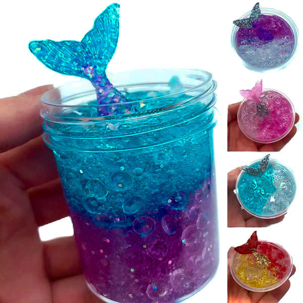 Crystal Mermaid - oddly satisfying slime