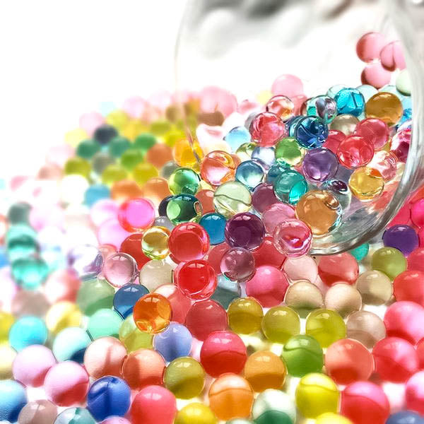1000 Magic Mini Beads! - oddly satisfying slime