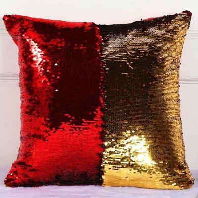 Sequin Cushion Pillow Case 40X40cm - oddly satisfying slime