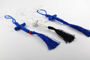 Knitted Cross with Suction Cup and Tassel - Athonite